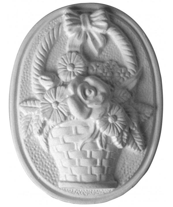 Stampo in gomma fiori Pr 8 cm.13