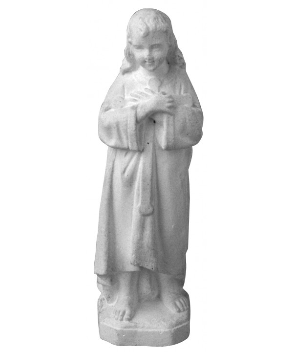 Stampo in gomma madonna S3 cm.14