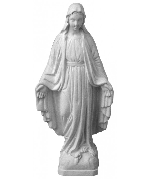 Stampo in gomma madonna S4 cm.11.5