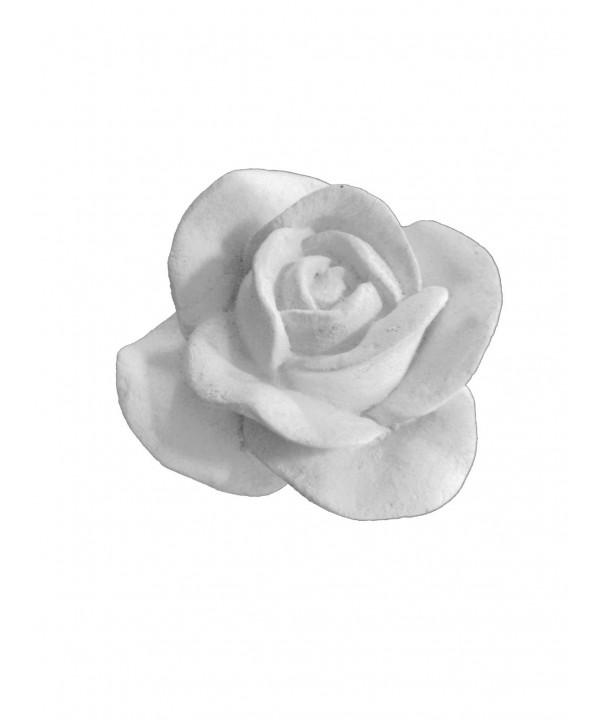 Stampo in gomma per il gesso di una rosa grande T 270 cm. 5*7.5