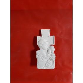Stampo in gomma per il gesso Bambino che prega P 234 cm. 7.5
