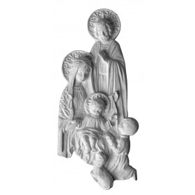 Stampo in gomma Sacra Famiglia P 80 cm.15