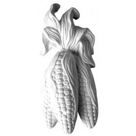 Stampo in gomma di pannocchie Pr 135 cm.16