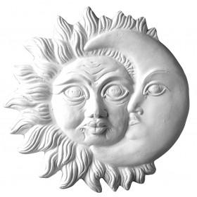 Stampo in gomma sole e luna Pr 164 cm.22.5
