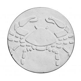 Stampo in gomma segno zodiacale cancro Pr 180 cm.11.5