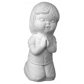 Stampo in gomma bambina che prega T 55 cm.11