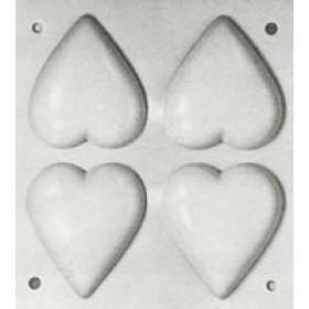 Stampo in plastica Cuori n.1