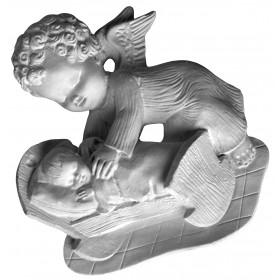 Stampo in gomma angelo custode P 186 cm.19