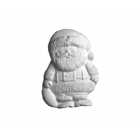Stampo in gomma Babbo Natale P 214 cm.6.5