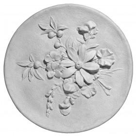 Stampo in gomma piatto fiori Pr 147 cm.28.5