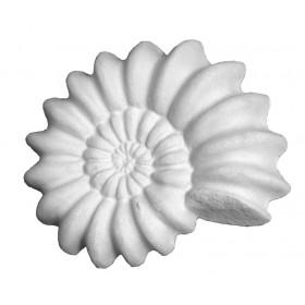 Stampo in gomma conchiglia marina Pr 192 cm.8*10