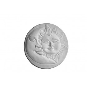 Stampo in gomma sole e luna Pr 210