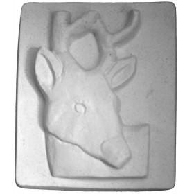 Stampo in gomma cerbiatto Pr 214 cm.9*7.5