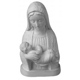 Stampo in gomma madonna con bambino T 148 cm.13