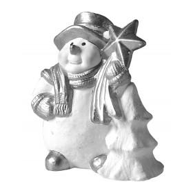 Stampo in gomma pupazzo di neve T 200 cm.12.5