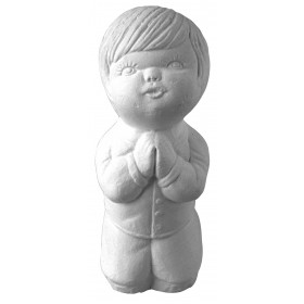 Stampo in gomma bambino che prega T 54 cm.11